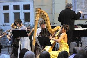 A Concerto Budapest Szimfonikus Zenekar hárfa próbajátékot hirdet