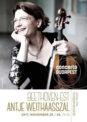 2017.11.29. -11.30. - Beethoven-est Antje Weithaasszal
