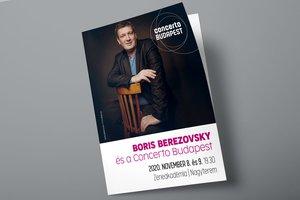 Boris Berezovsky és a Concerto Budapest - 2020.11.08-09. Zeneakadémia